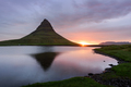 Colorful sunrise on Kirkjufellsfoss waterfall - PhotoDune Item for Sale