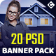 Real Estate Banner Pack - GraphicRiver Item for Sale