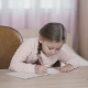 Little Girl Writes - VideoHive Item for Sale