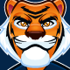 Athletic Tiger Mascot - GraphicRiver Item for Sale