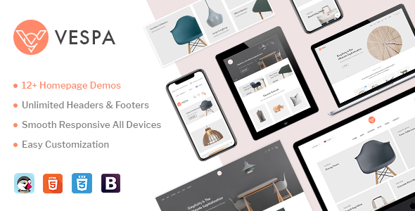 Vespa - Premium Prestashop Theme - Shopping PrestaShop