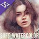 Soft Watercolor Photoshop Action