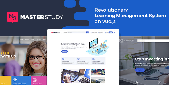 Masterstudy - Education LMS WordPress Theme for eLearning and Online Courses - Education WordPress