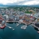 View of a Marina in Tromso, North Norway - VideoHive Item for Sale