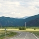 View of the Mountains From the Road. - VideoHive Item for Sale