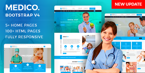 MediCo.- Hospital and Doctor Clinic HTML Template - Health & Beauty Retail