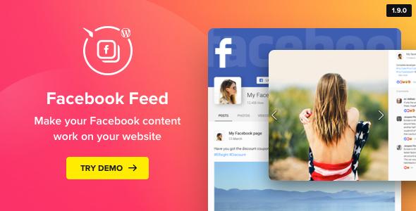 Facebook Feed – WordPress Facebook Plugin - CodeCanyon Item for Sale