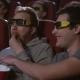 Man Eating Popcorn in 3d Cinema - VideoHive Item for Sale