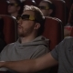 Male Friends Wearing 3d Glasses in Cinema - VideoHive Item for Sale