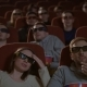 Spectators in 3D Glasses Strained Watching Scary Film - VideoHive Item for Sale