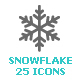 Snowflake Mini Icon - GraphicRiver Item for Sale