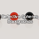 Reflective Spheres Backgrounds