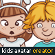 Kids Avatars Creator + 80 Ready Characters - GraphicRiver Item for Sale