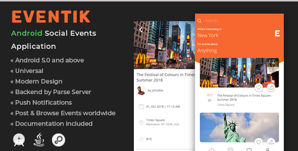 Eventik | Android Social Events Application            Nulled