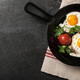 Fried eggs with tomato - PhotoDune Item for Sale