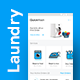 Laundry Customer App & Delivery App Full UI KIT | QuickWash - GraphicRiver Item for Sale