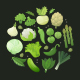 Green Vegetables - GraphicRiver Item for Sale