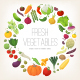 Vegetables Circle - GraphicRiver Item for Sale