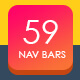 59 Navigation Menu Bars - GraphicRiver Item for Sale