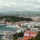 Pan Shot of Nice, Sea and Transportation, May 05, 2018, France - VideoHive Item for Sale