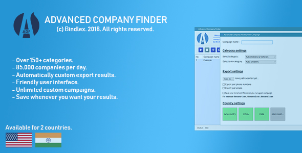 Advanced Company Finder - CodeCanyon Item for Sale