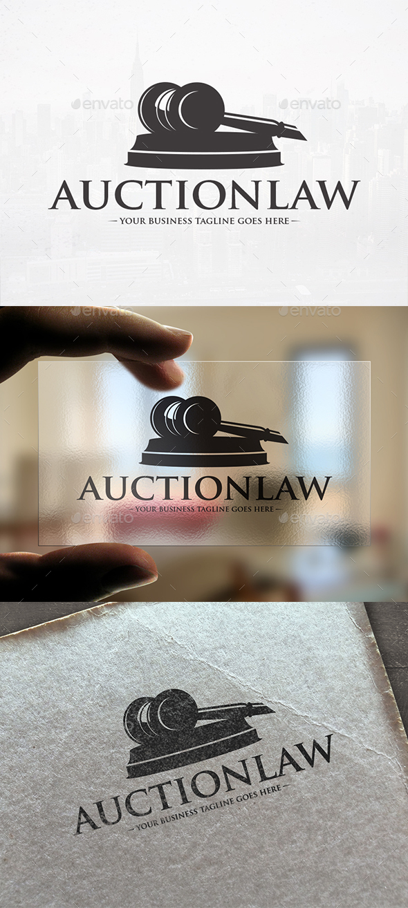 Law Attorney Logo Template - Objects Logo Templates
