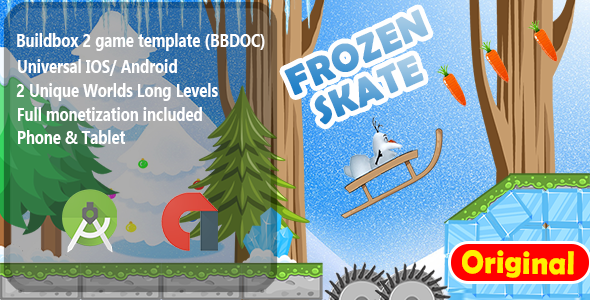 Frozen Skater -  Adventure Game Template            Nulled