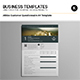 Athlos Customer Questionnaire A4 Template - GraphicRiver Item for Sale