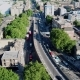 Aerial View of Bricklayers Arms Roundabout Flyover Bermondsey Tower Bridge Road and Old Kent Road - VideoHive Item for Sale