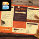 Retro Food Menu - GraphicRiver Item for Sale