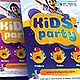 Kids Party Flyer - GraphicRiver Item for Sale