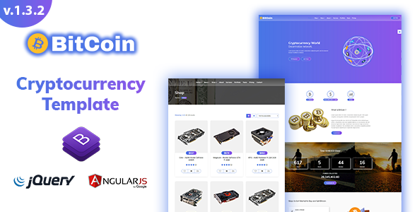 BitCoin - Cryptocurrency Template - Business Corporate