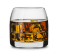 Glass of scotch whiskey with ice cubes - PhotoDune Item for Sale