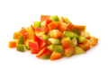 Pile of chopped sweet bell pepper - PhotoDune Item for Sale