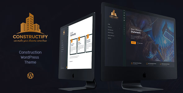 Construction Constructify | Construction & Building WordPress Theme - Business Corporate
