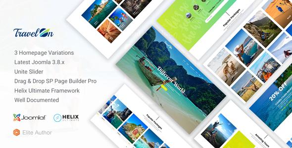 TravelOn - Travel, Tour, Travel Agency Joomla Template - Travel Retail