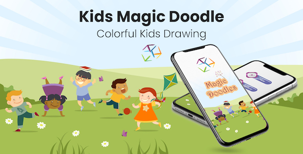 Kids Magic Doodles - Colorful Kids Drawing (Android)            Nulled