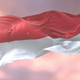 Monaco Flag at Sunset - VideoHive Item for Sale