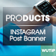 10 Instagram Post Banner-Products - GraphicRiver Item for Sale