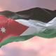 Jordan Flag at Sunset - VideoHive Item for Sale