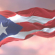 Flag of Puerto Rico at Sunset - VideoHive Item for Sale