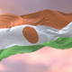 Flag of Niger at Sunset - VideoHive Item for Sale