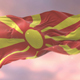 Flag of the Republic of Macedonia at Sunset - VideoHive Item for Sale