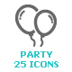 Party & Celebrate Mini Icon - GraphicRiver Item for Sale
