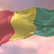 Flag of Guinea at Sunset - VideoHive Item for Sale