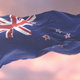 Flag of New Zealand at Sunset - VideoHive Item for Sale