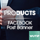 20 Facebook Post Banner-Products - GraphicRiver Item for Sale