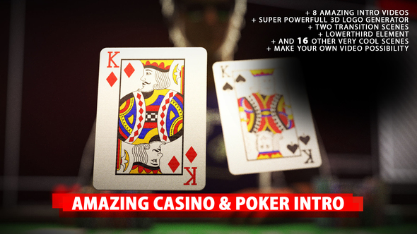 Videohive Amazing Poker Intro 20453990