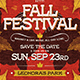 Fall Festival Flyer Template V2 - GraphicRiver Item for Sale
