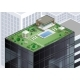 Cottage on Roof of Skyscraper - GraphicRiver Item for Sale